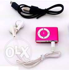 mp3 player with headphone