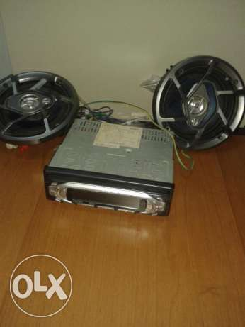 Car Radio Cassette Player for Sale العامرّات -  1