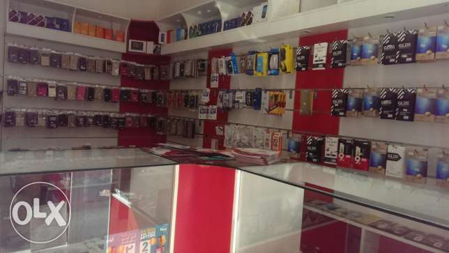 mobile shop sale with acceceries مسقط -  8
