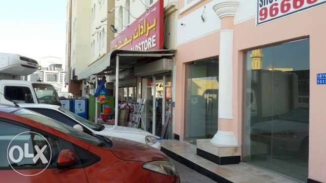 New shop for rent near Nesto السيب -  1