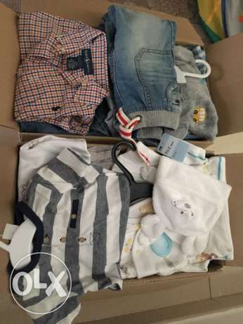 Newborn up to 2 years boys clothes- mostly new