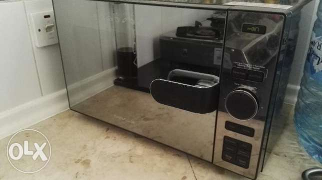 Daewoo conventional microwave with air fryer