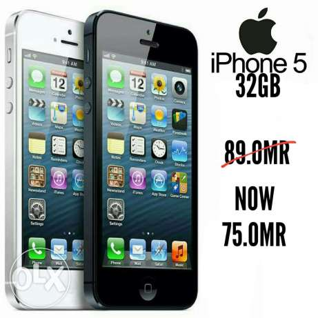 almost fineshid iphone 5 32gb new with warranty and free gift