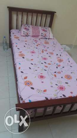Single Bed With Two Mattresses