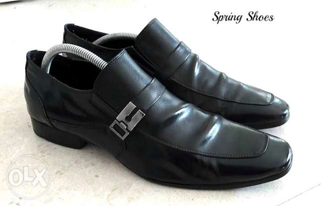 springfield Men's shoes good condition - size us 10 - uk 9 مسقط -  1