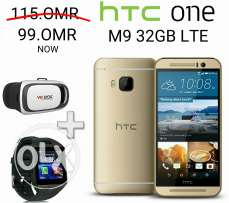 Htc m9 32gb 4G new never used with warranty offer