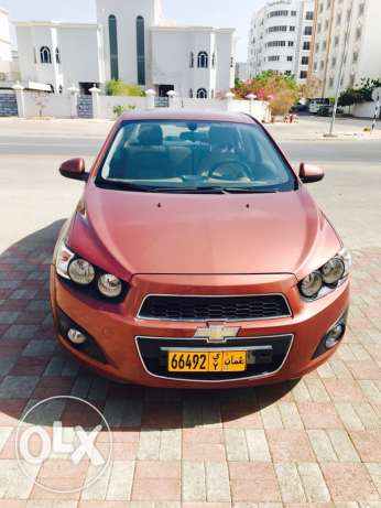 Only 55/- OMR. Chevorlet Sonic 1.6 2012.