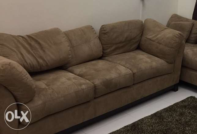 sofa -3 seater (from Home centre) OMR 120