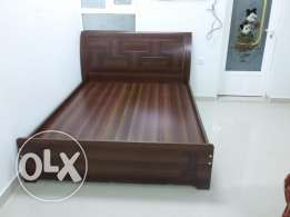 Bed Raha mattress and cupboard Wadikabeer