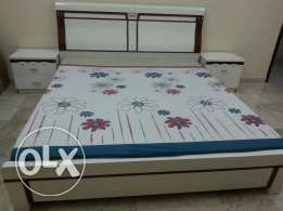 Home center purchased king size 6×6 Bed Room Set with dressing table
