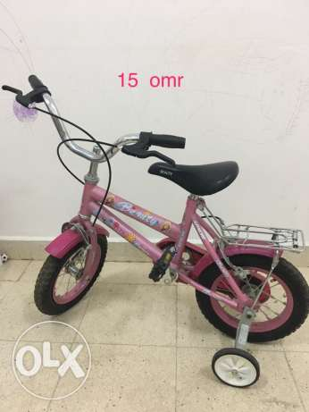 kids cycle, bed with mattress n chair