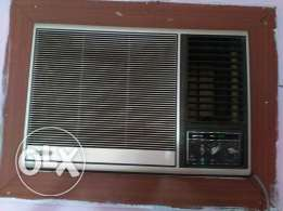 Sanyo ac for sale 1.5 ton made in japan very good condition