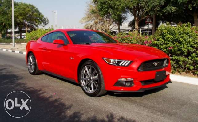 2017 # Ford Mustang # GT # PREMIUM + # 0 km # A/T# Red