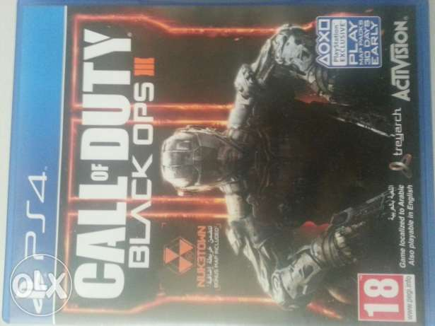 Call of duty black ops 3 ps4 بوشر -  1