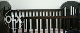 Crib & bed -as good as new