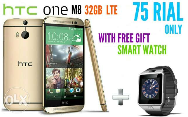 htc one m8 32gb 4g new with warranty and gift original