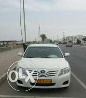 Camry 2011 full automatic GCC gulf agency white colour