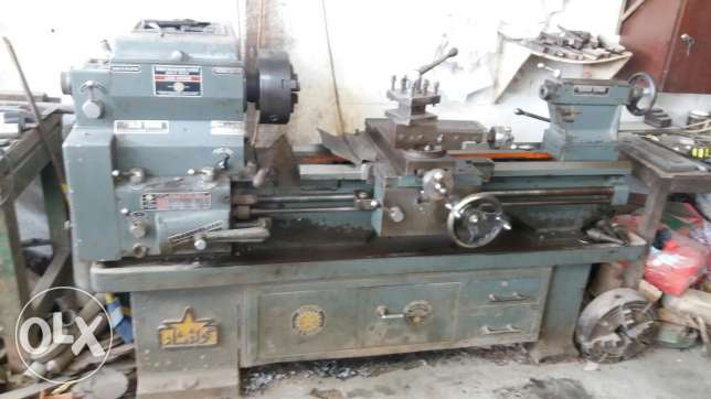 Meshinery for lathe work