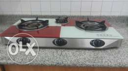 Digitron 3 burner gas stove in a very good condition.2 yrs old