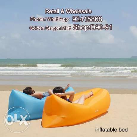 Adult inflatable bed high quality easy to carry for outdoor activities