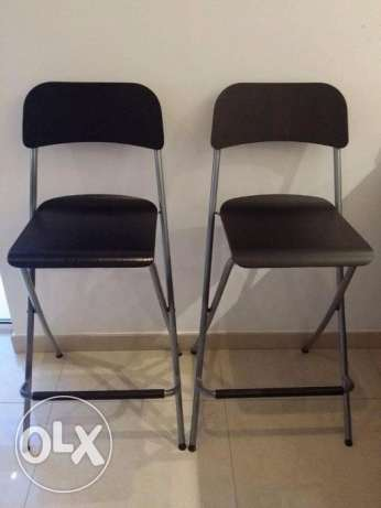 IKEA Franklin Foldable Barstools