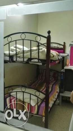 Bunk bed with one mattress !