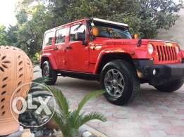 Rubicon jeeb GCC 2015 from Oman under warranty