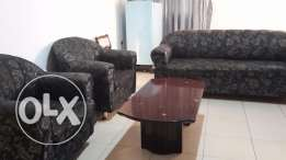 3+1+1 Sofa set with Centre Table