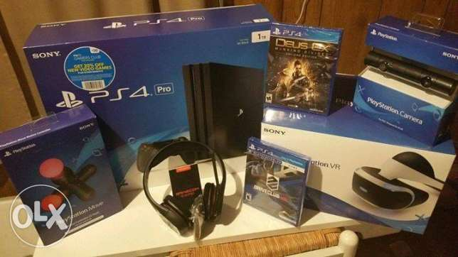 Brand new sony ps4 1TB