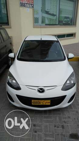 Mazda 2 model 2013 cash for sell السيب -  2