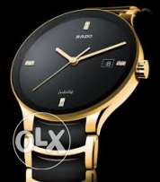 rado black golden jublee
