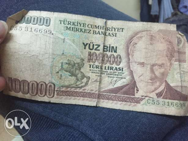 Turky lira currency