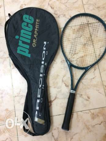 Prince Tennis Racket with case مسقط -  1