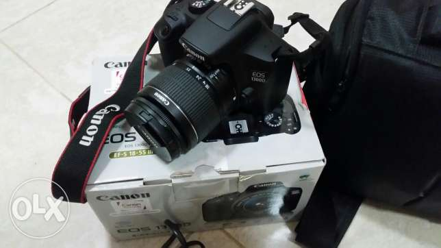 canon 1300D camera under warranty with 145 omr only