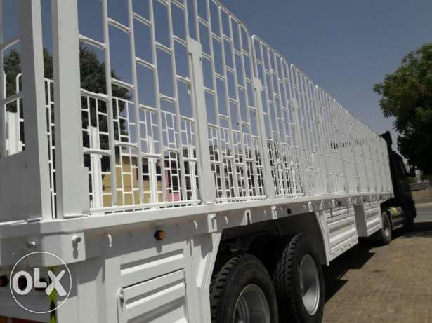 recondition trailers with new Tyre painting and paper for 2017 model
