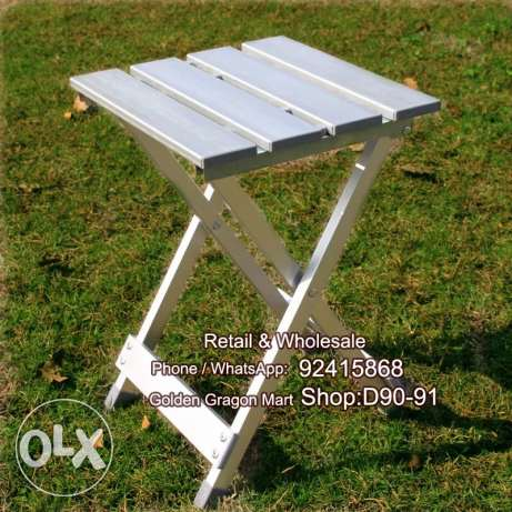 Aluminum folding chair for outdoor activities and family party picnic