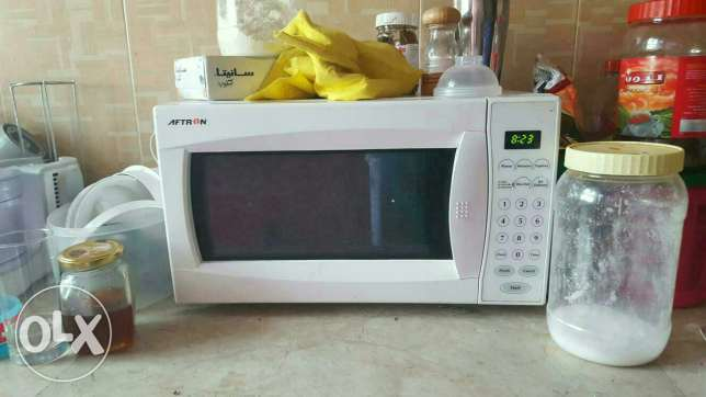 Aftron microwave in newly used condition السيب -  1