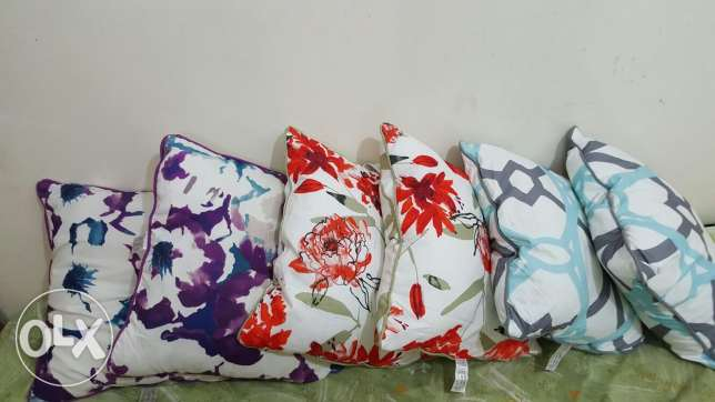 Cushions from home centre size. 45×45cm