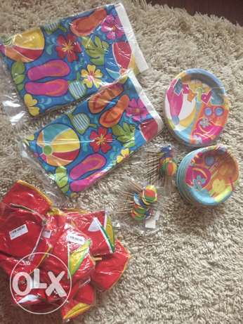 pool party party supplies