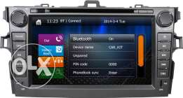 DVD Player For Toyota Corolla 2008 to 2012