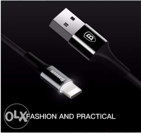 Baseus Original USB Cable For iPhone (5 OMR with one year warranty)