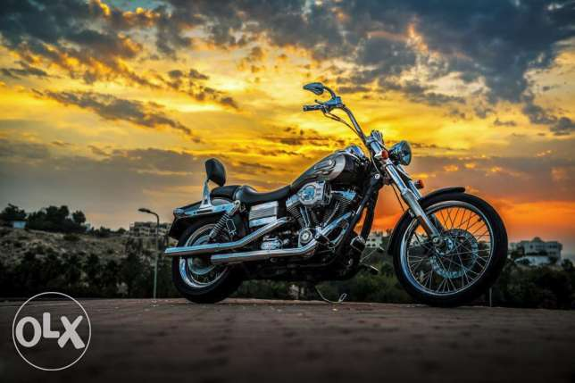 Harley Davidson Wide Glide...very clean and low mileage مسقط -  5