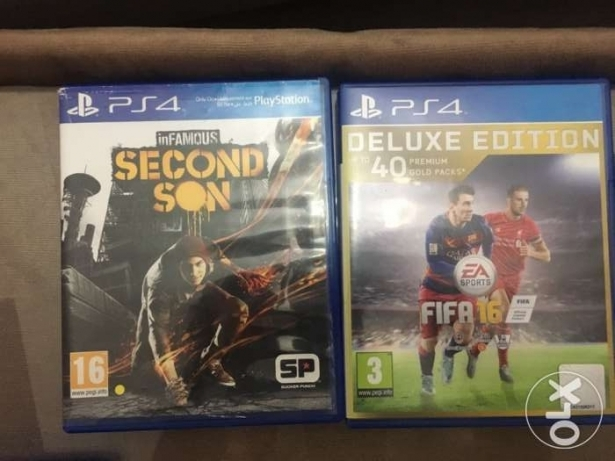 fifa 16 and second son for sale or trade مسقط -  1