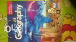 Edexcel AS Geography textbook and CGP revision guide
