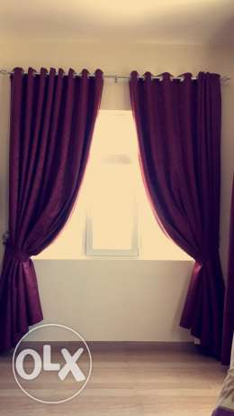 curtain in great condition.