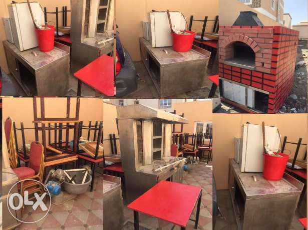 All restaurant equipments for sale