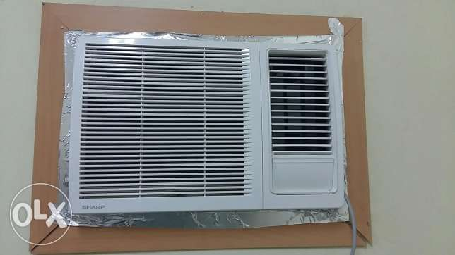 SHARP Window AC 1.5 Ton with 5 years warranty الغبرة الشمالية -  2