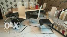 8 Chairs Multipurpose For Sale