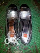 Boss shoes sightly used