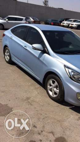 Salon Hyundai Accent 1.6 Model 2013 full automatic oman agency مسقط -  3